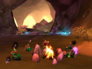 World of Warcraft: Gemeinsam am Lagerfeuer