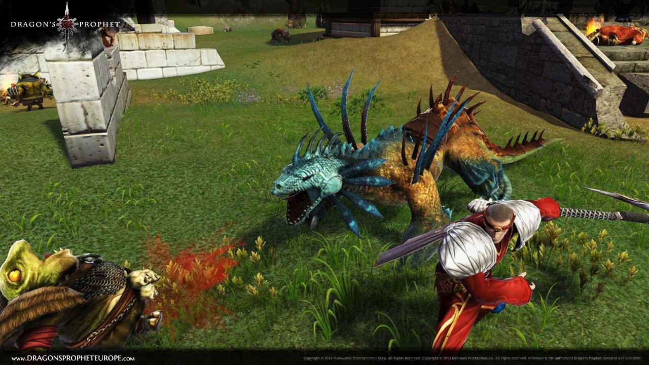 Gemeinsam kämpfen in Dragon's Prophet