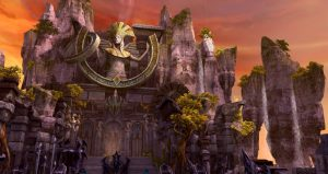 Heiliger Tempel in Aion