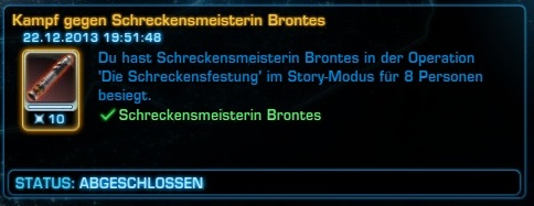 Achievement SWTOR