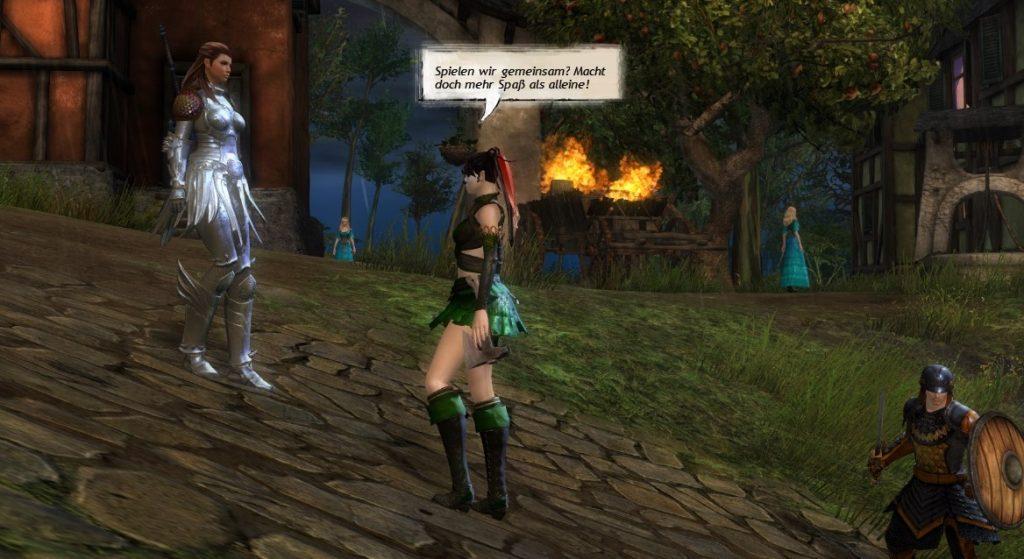 Gemeinsam Spielen MMORPG - Guild Wars 2