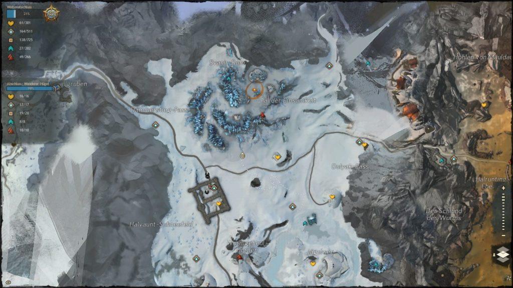 Guild Wars 2 Karte