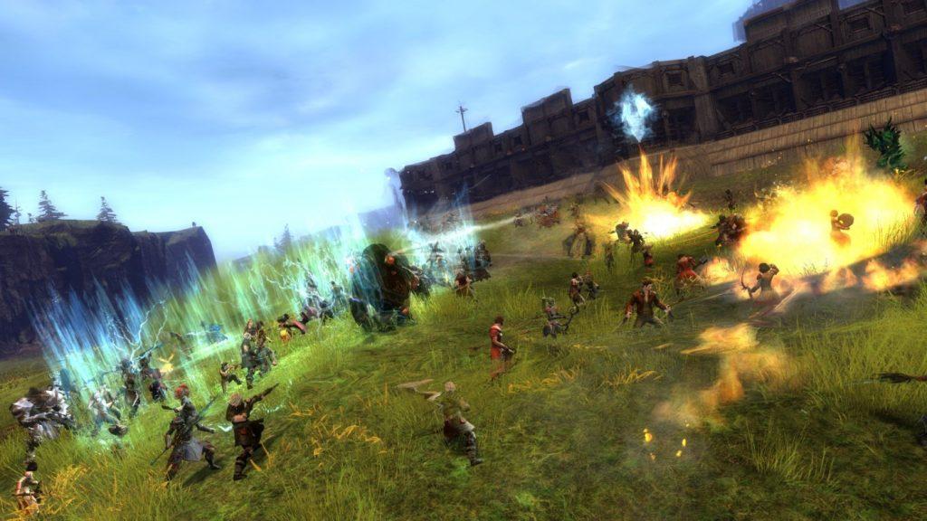 Welt gegen Welt PvP in Guild Wars 2