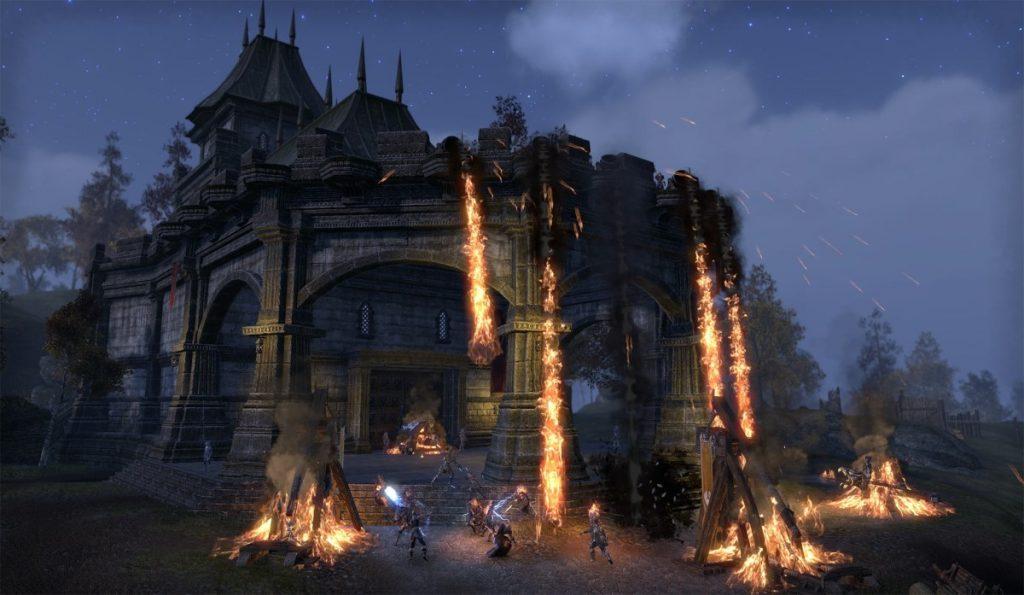 The Elder Scrolls Online: Burgenschlachten