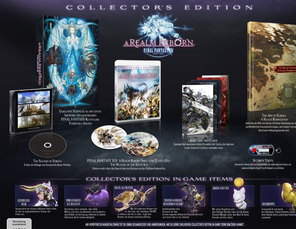Collectors Edition Final Fanrasy XIV PS4