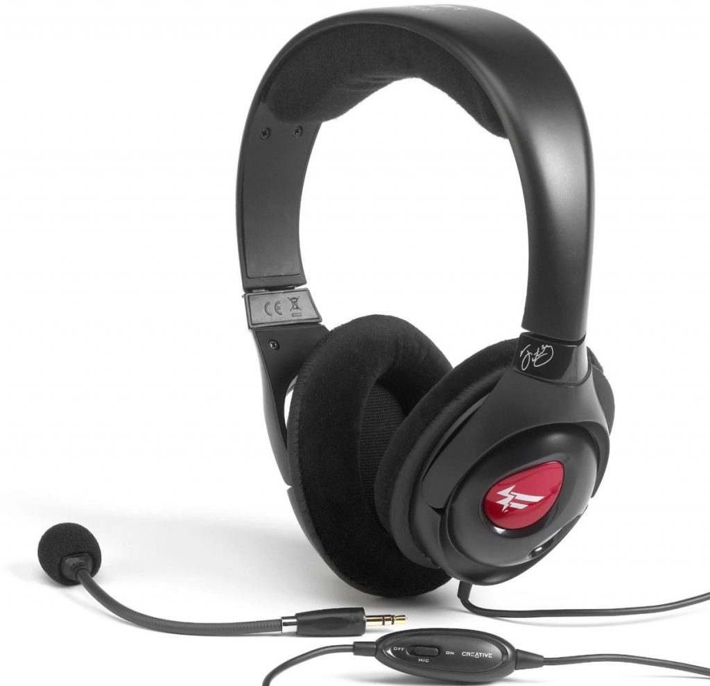 Creative Fatal1ty Pro Series HS-800 Gaming Headset