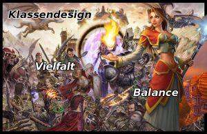 Klassendesign MMORPG: WoW und DAoC