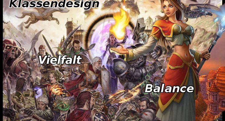 Der Klassenkampf: Vielfalt vs. Balance im Klassendesign