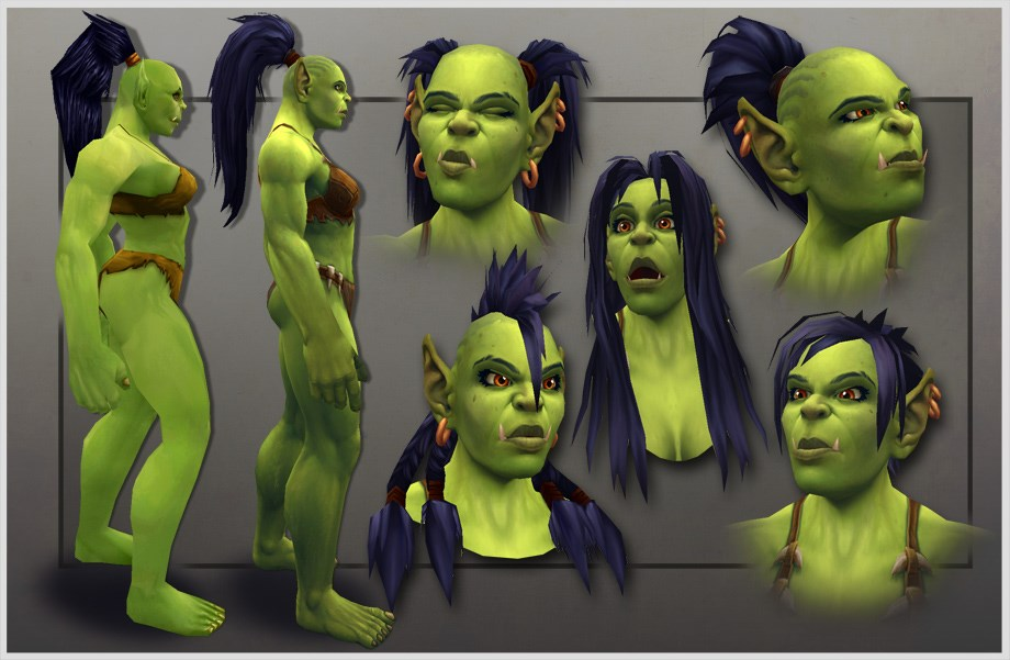 World of Warcraft: Weibliche Orcs