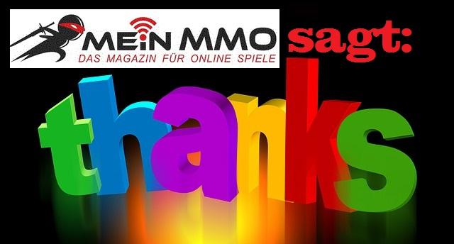 Mein MMO: Wir sagen Danke und bieten Gamern eine Plattform!