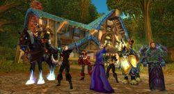 World of Warcraft Spieler in Goldhain