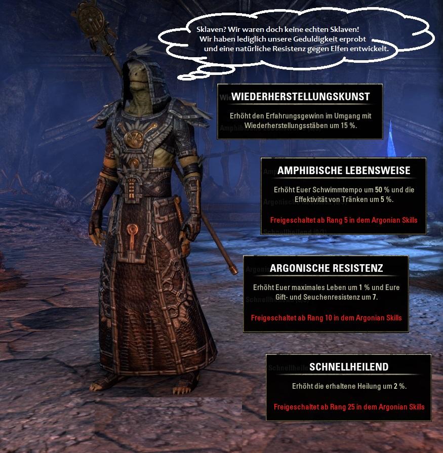 Rasse in Elder Scrolls Online: Argonier