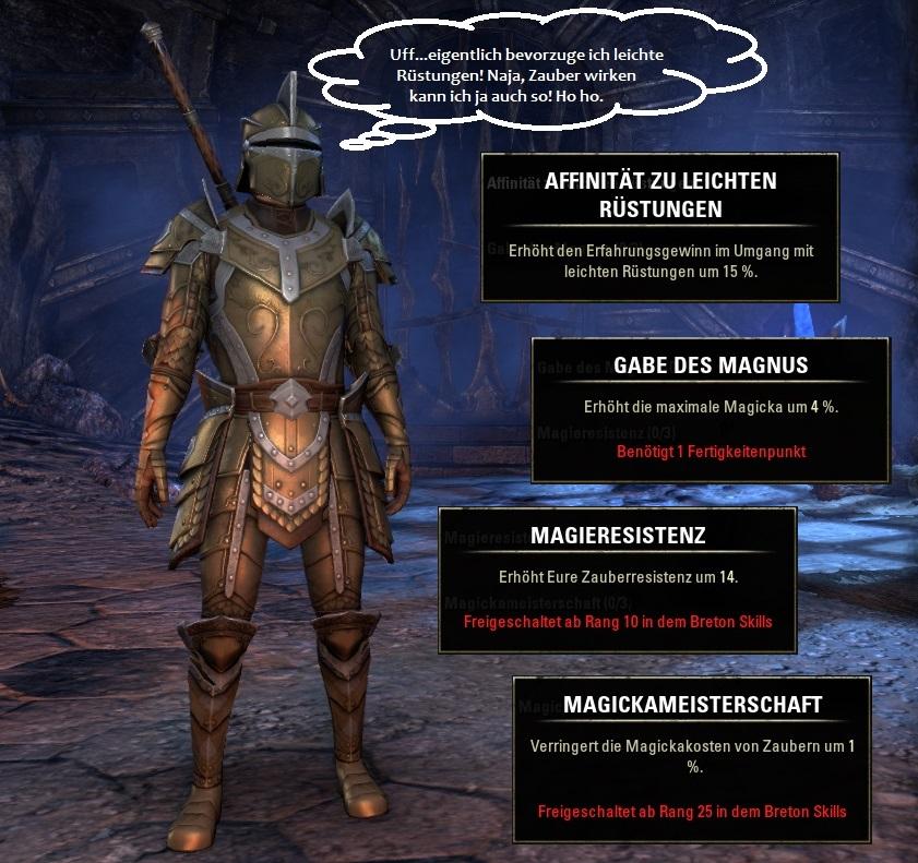 Rasse in Elder Scrolls Online: Bretonen