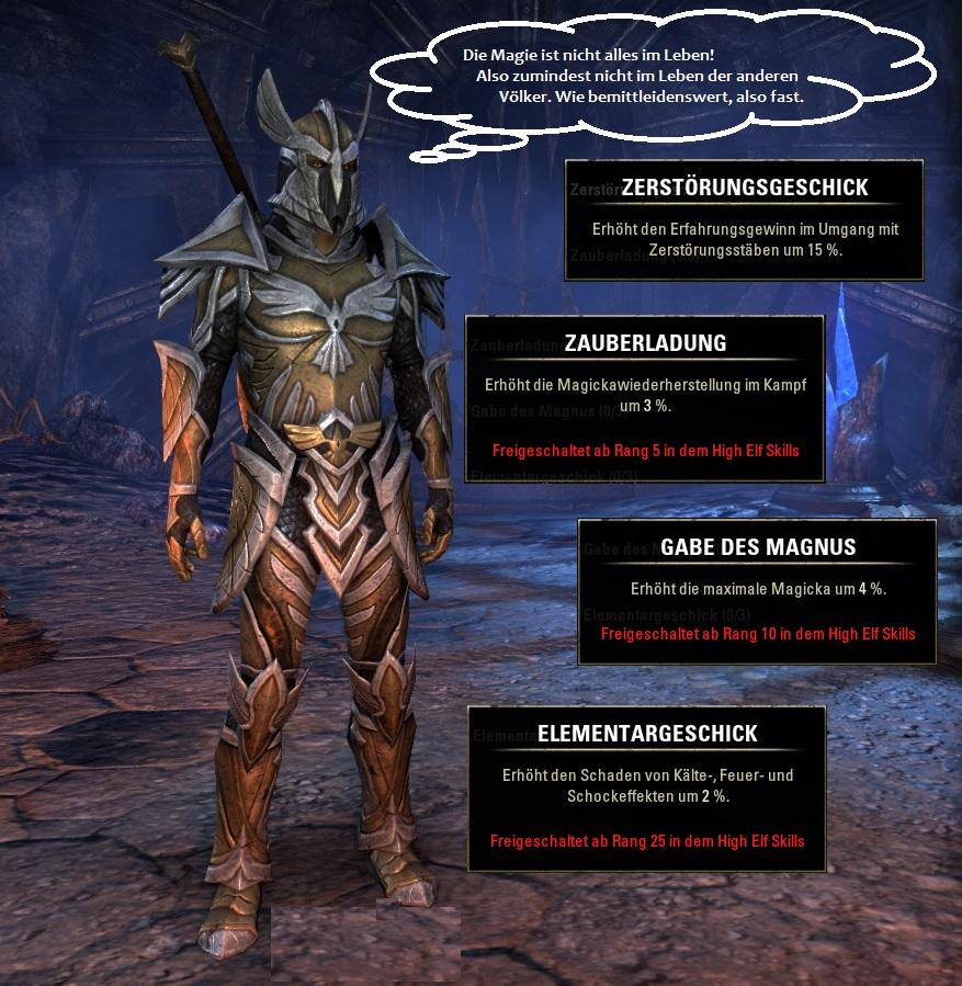Rasse in Elder Scrolls Online: Hochelfen