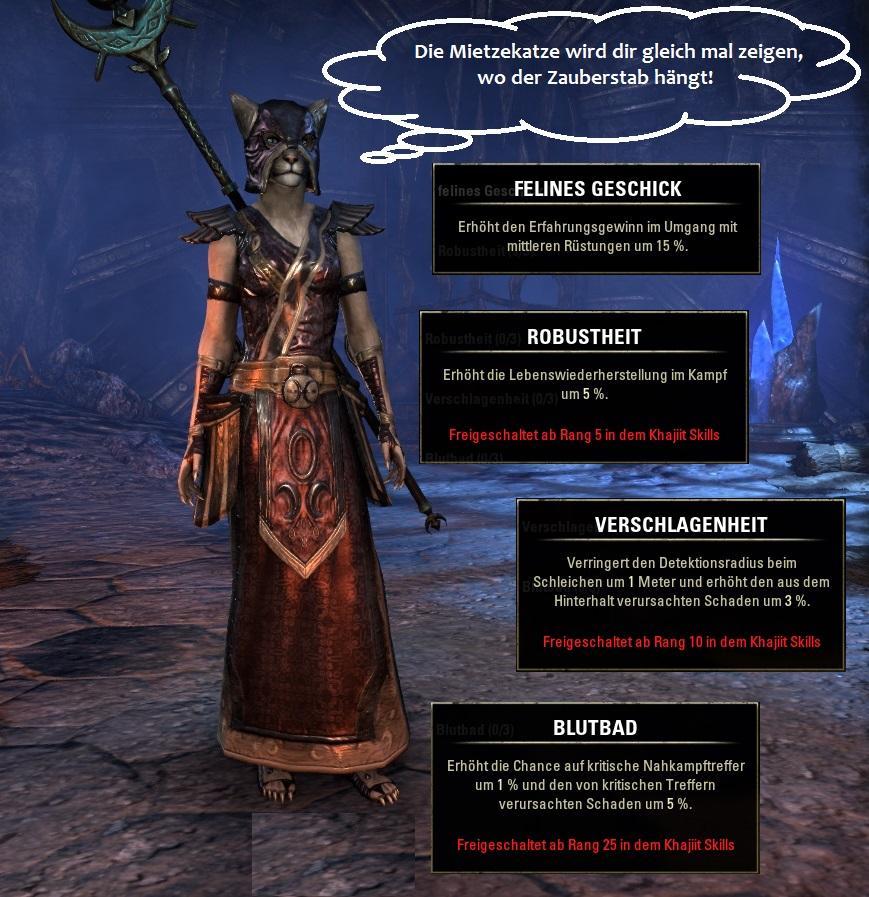 Rasse in Elder Scrolls Online: Khajiit