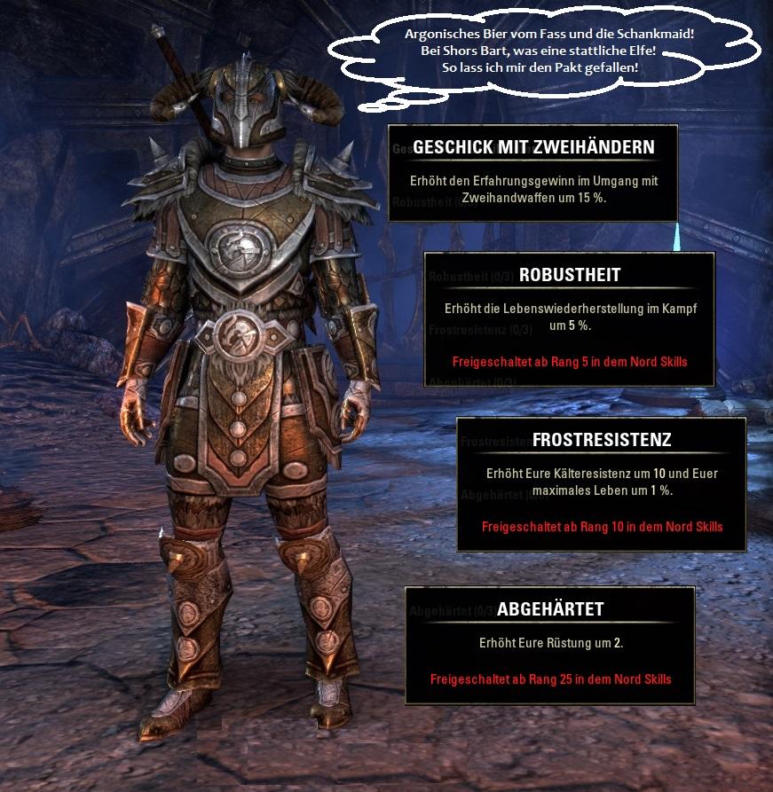 Rasse in Elder Scrolls Online: Nord