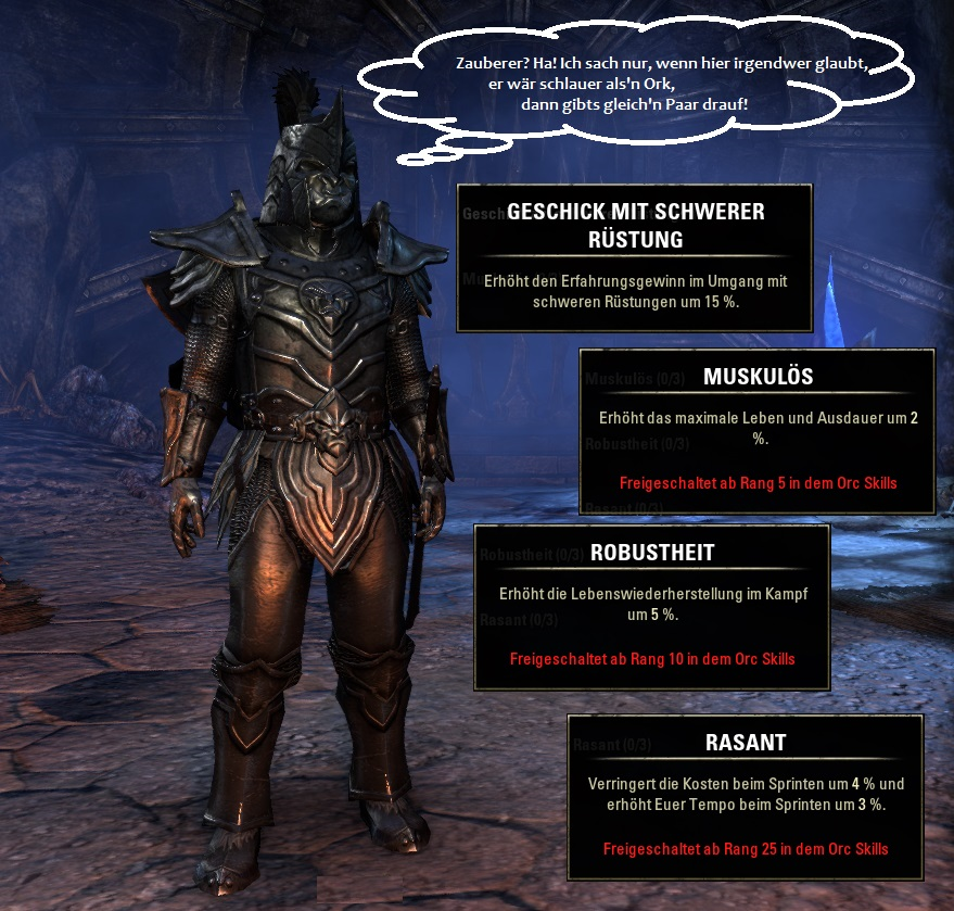 Rasse in Elder Scrolls Online: Orks