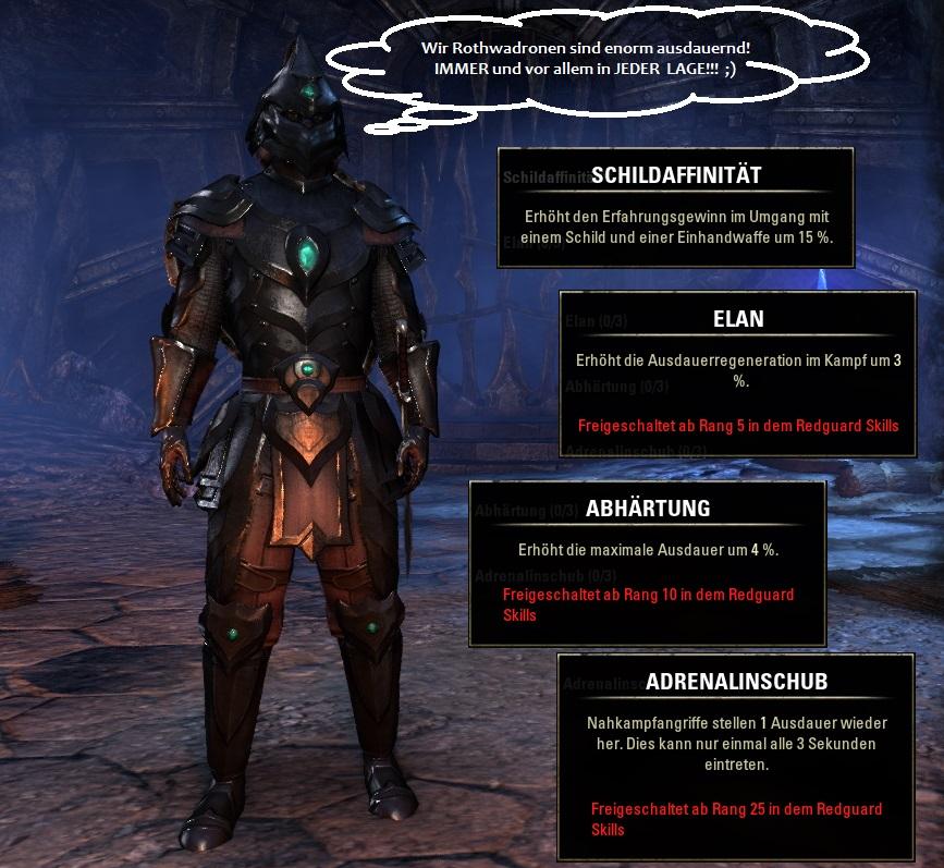 Rasse in Elder Scrolls Online: Rothwadronen