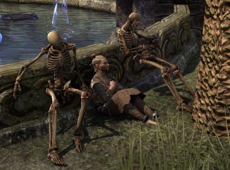 TESO Waldelf und Skelette