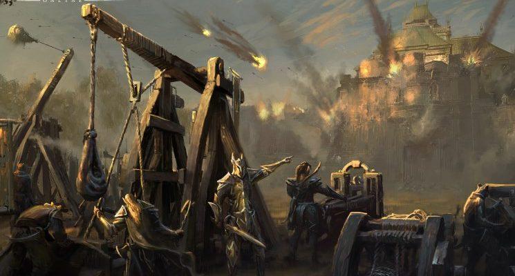 The Elder Scrolls Online: 40 Krieger, die auf einem Bierdeckel stehen, und das leidige AE-Cap