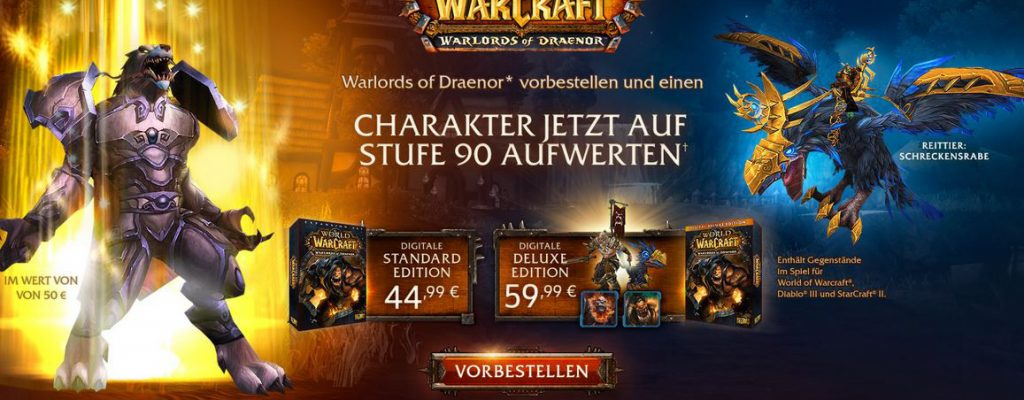 World of Warcraft: Vorverkauf von Warlords of Draenor startet