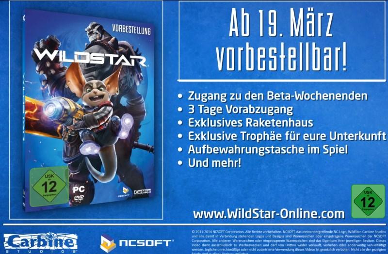 WildStar vorbestellen