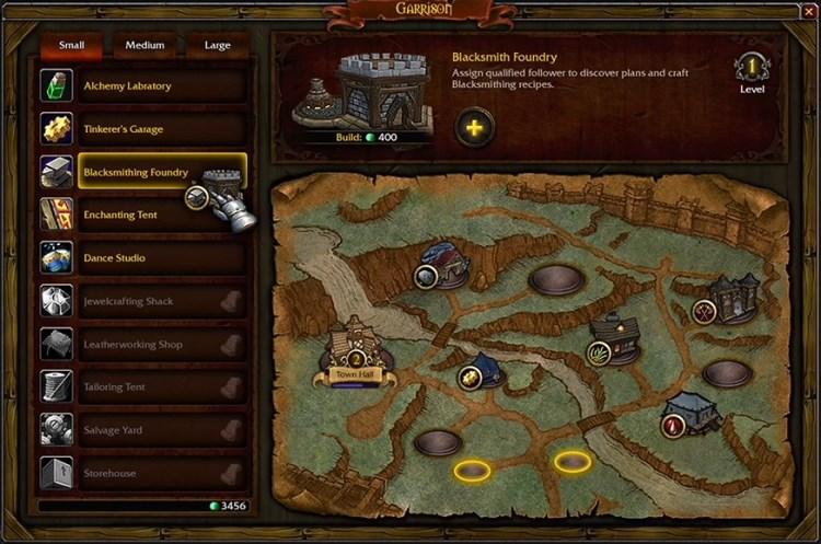 Garnison Handwerk in World of Warcraft