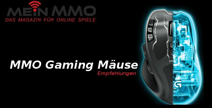Drei MMO-Mäuse für Charlie
