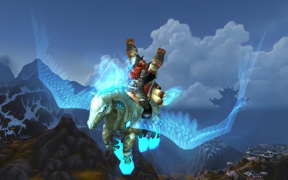 World Of Warcraft Equip Aufwertung Und Neues Mount