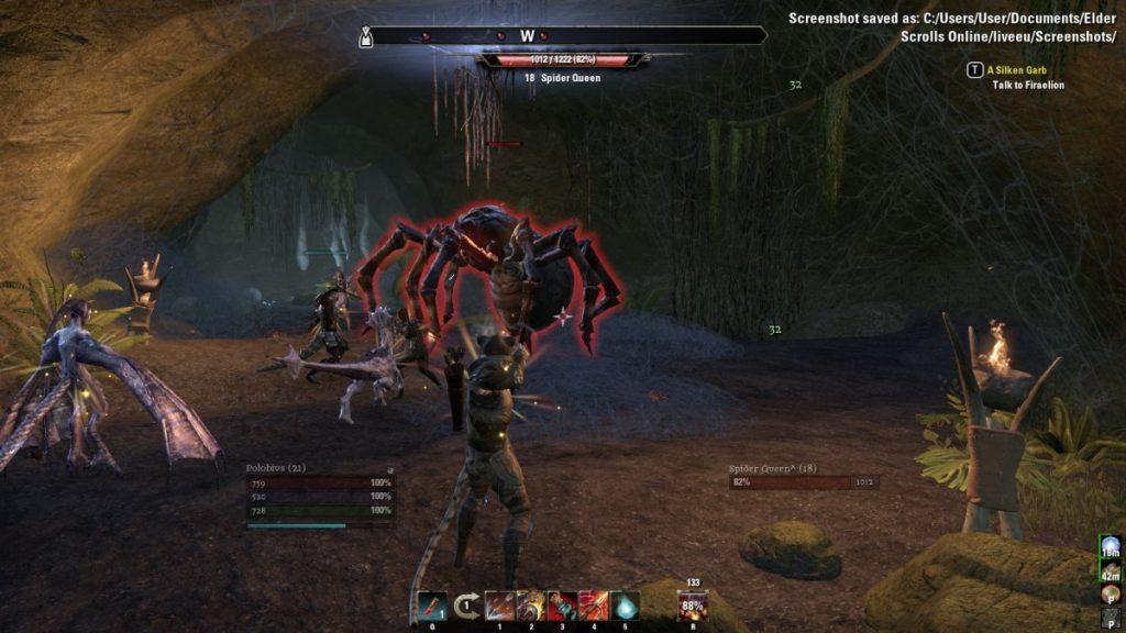 Spiderqueen The Elder Scrolls Online