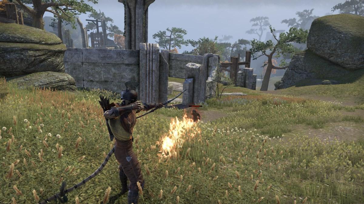 The Elder Scrolls Online: Mit Pfeil und Bogen