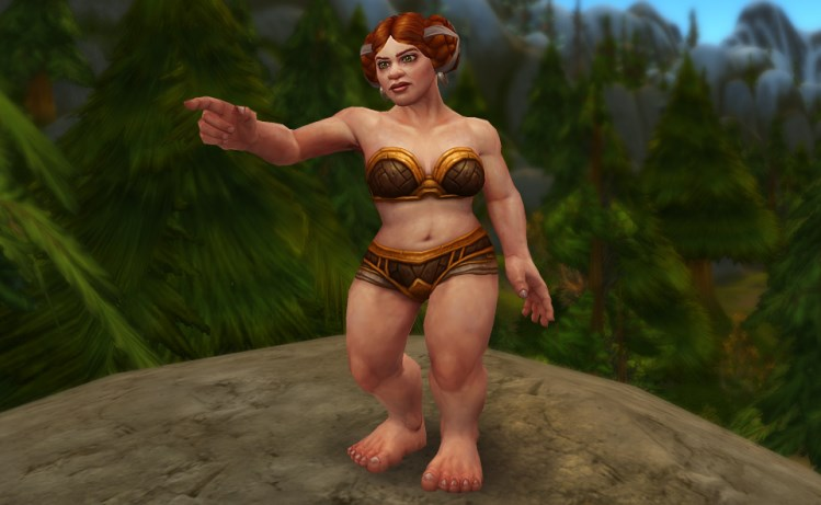 World of Warcraft: Weiblicher Zwerg