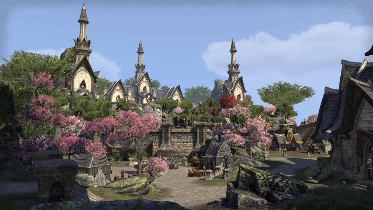 The Elder Scrolls Online: Stadt