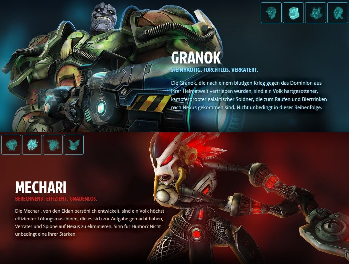 WildStar: Granok und Mechari
