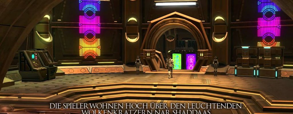 Star Wars: The Old Republic – Kostenloses Mini-Haustier und Apartment