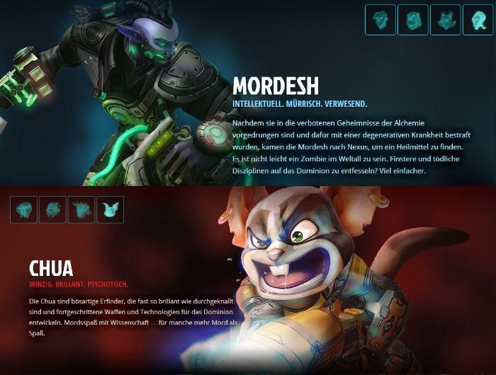 WildStar: Mordesh und Chua