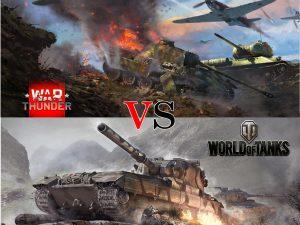 War Thunder vs. World of Tanks