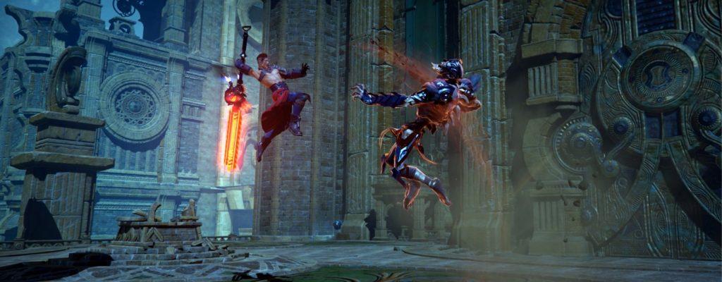 Im Götter-MMO Skyforge ist Gearscore wichtiger als die Stufe