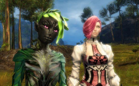 Neue Frisuren und Augenfarben in Guild Wars 2.