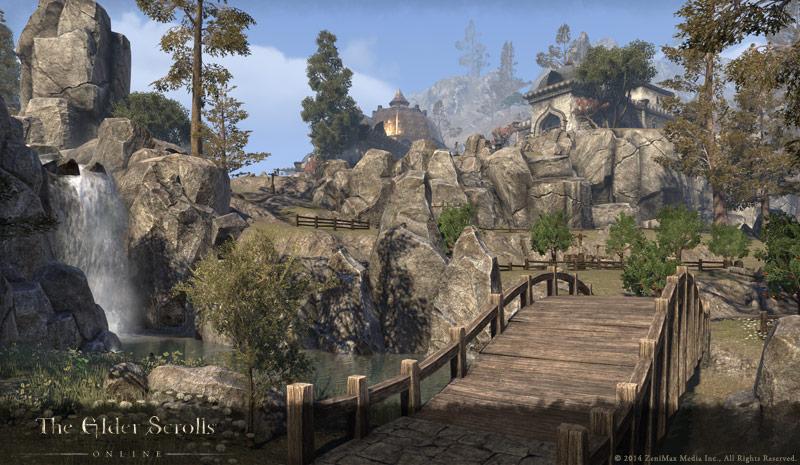 The Elder Scrolls Online: Umgebung in Kargstein