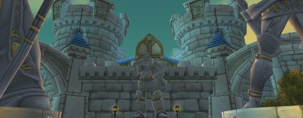 World of Warcraft: Wird Sturmwind doch noch aufgebaut?