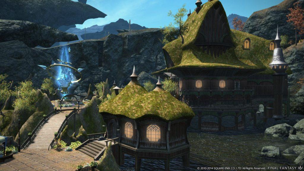 Umgebung bei Final Fantasy XIV