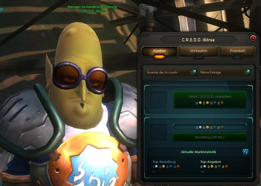 C.R.E.D.D. WildStar NPC