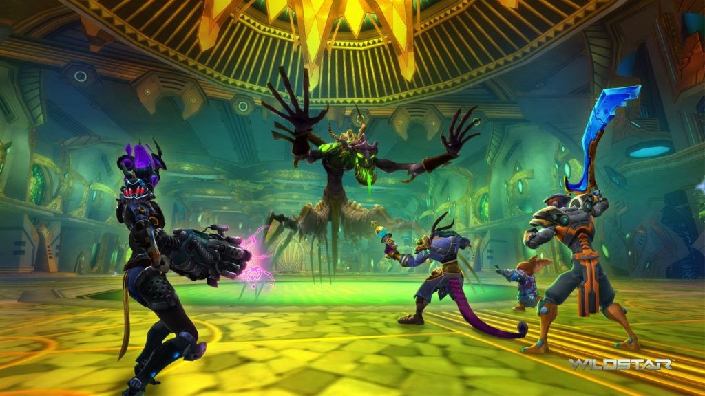 Dungeons in WildStar