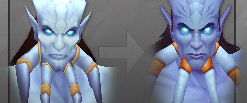 World of Warcraft macht blau: Draenei sehen eh top aus