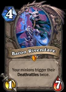 Hearthstone Baron Rivendare