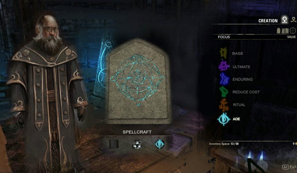 The Elder Scrolls Online Zauberweben