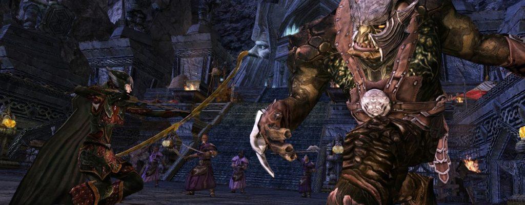 Riesenspinne Kankra kehrt in Herr der Ringe Online zurück!