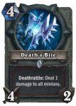 Hearthstone: Klassenkarte Death's Bite (Schurke)