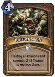 Hearthstone: Klassenkarte Poison Seeds (Druide)